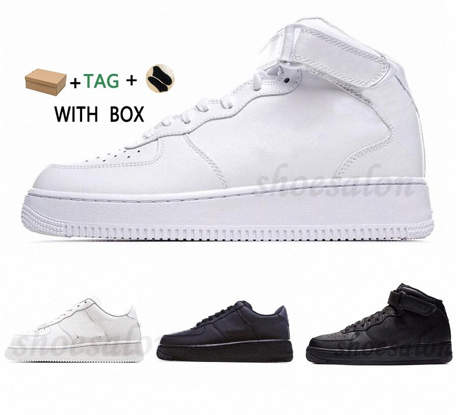 2021 Brand Discount Classic Airforce 1 1s Running Shoes Men Women Flyline Forces Sports Skateboarding Ones High Low Cut White Black Outdoor Trainers Sneakers H1Eb#