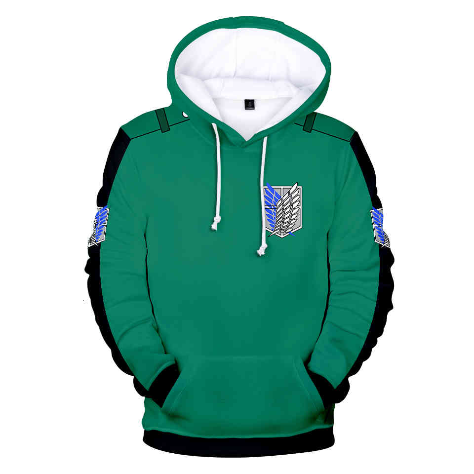 Cosplay Anime Attack on titan hoodie attack titans Sweatshirt Cosplay Costume attack the titans Jacket Clothing shirt XXS-4XL