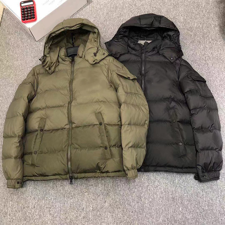 Winter thickened warm down jacket, men's and women's short bread star's same style K xqnm724 3065