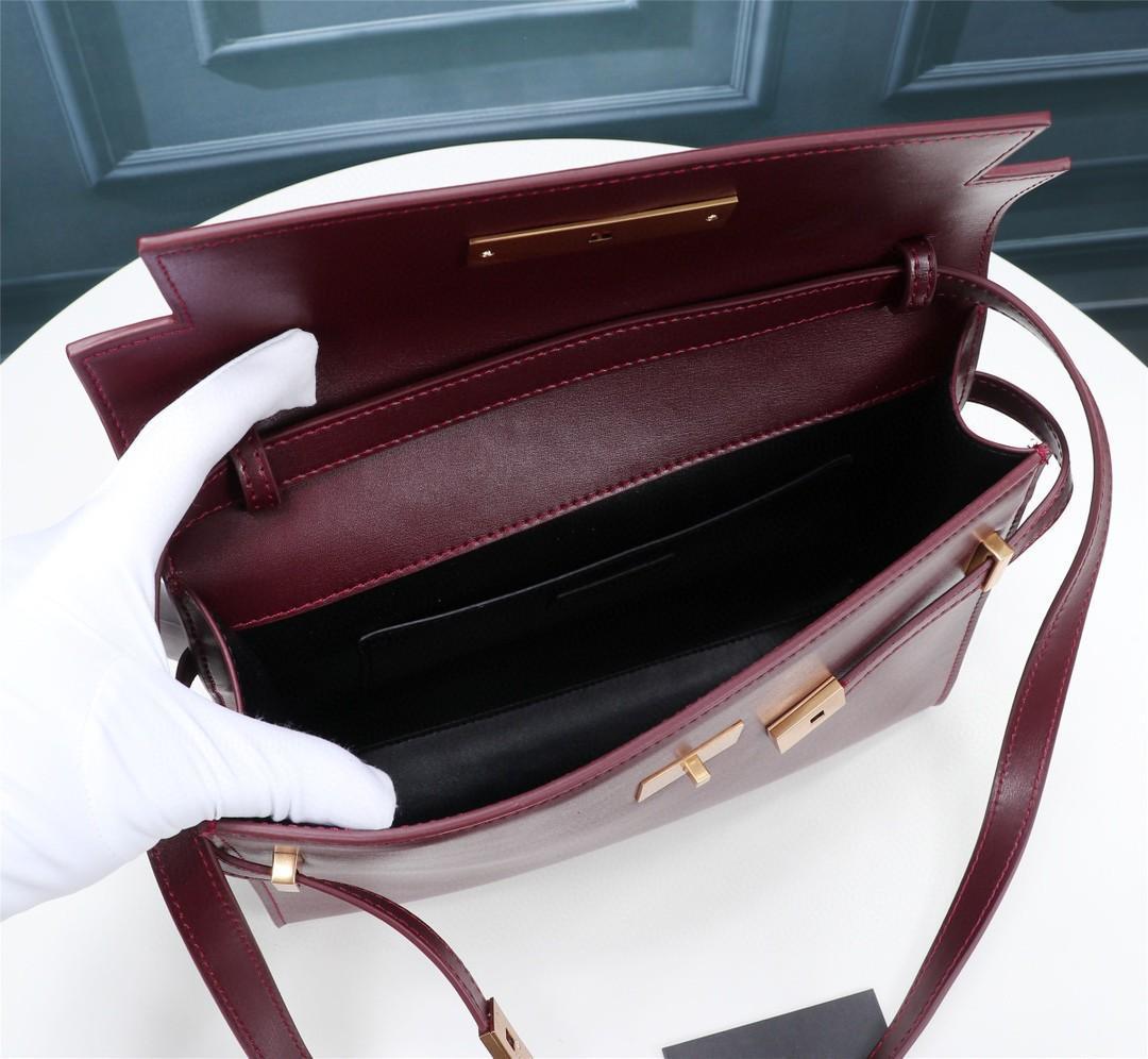 Y 3A quality 2020 new business versatile ladies fashion design leather clamshell Manhattan baguette shoulder bag
