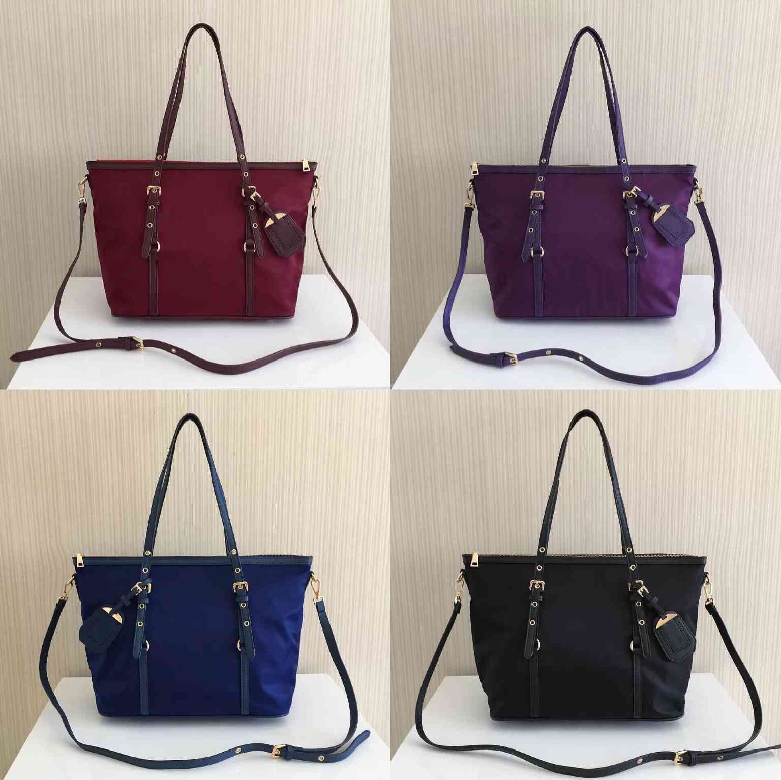 Wholesale Classic Ladies Handbag Shoulder Bag Parachute Nylon Shopping Bag Waterproof Oxford Cloth Large Capacity Handbag Shoulder Bag Messe