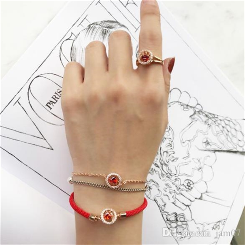 1990 jewelry new 925 silver hand rope beating heart pure silver red rope bracelet fashion casual bracelet