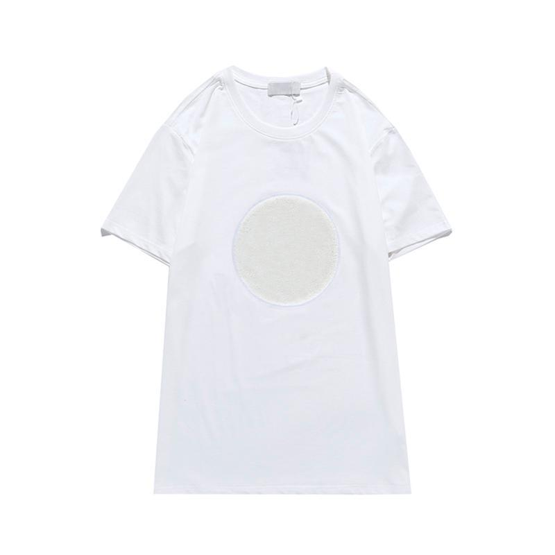 Men T-shirt Letter Print New Short Sleeve Trendy Summer Top Ins Tees Fashion Casual T shirts Women Clothes Cool Active Sport Run Hot 2021