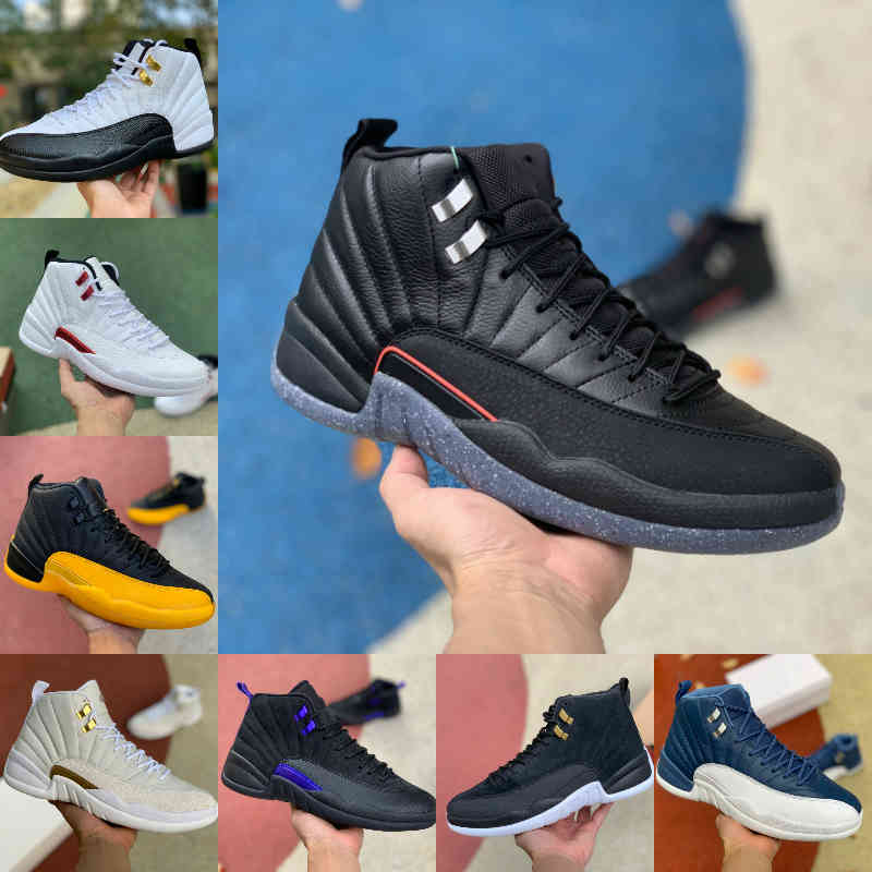Jumpman Low Easter 12 12s Mens High Basketball Shoes Utility Grind Indigo Flu Game Dark Concord JORDÁN OVO White Royalty Reverse Taxi Fiba Gamma Blue Trainer Sneakers