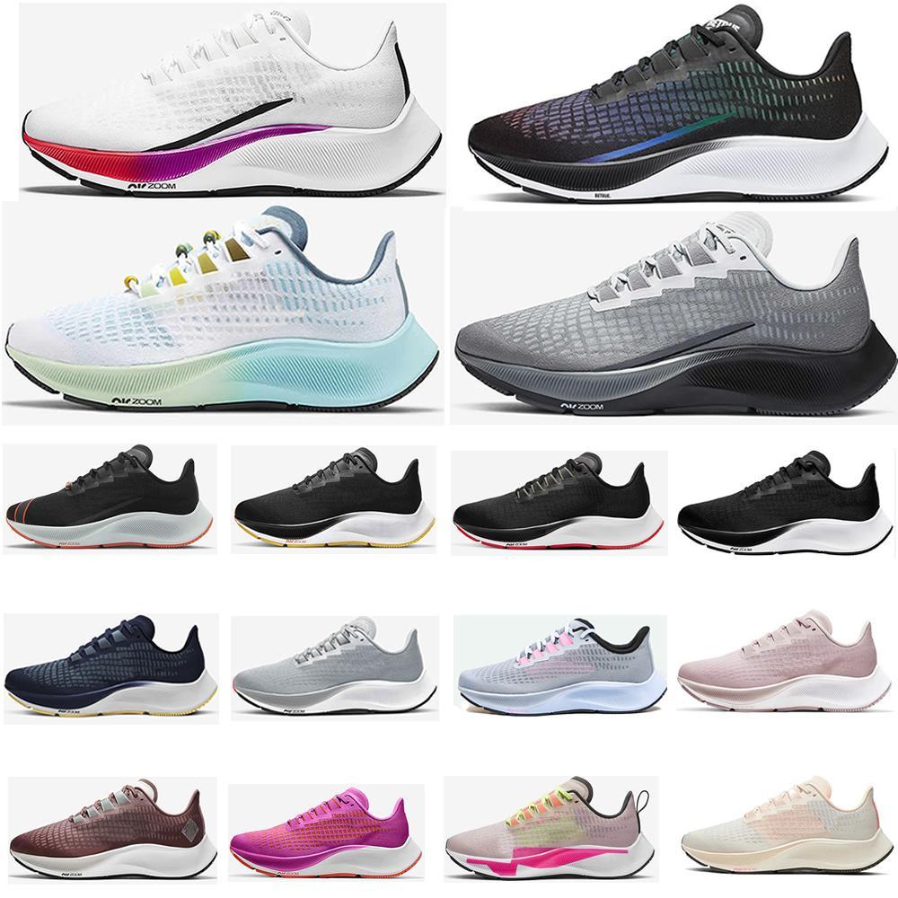 New Zooms Pegasus 37 Turbo 2 Black Gunsmok Mens Running Shoes Zoomx 4 Next Betrue Blue Ribbon Sports Women Sneakers 36-45