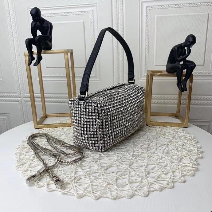 Women crystal diamond Handbags Shoulder BagsDisco Bag Fashion women bag clip girl shoulder bag women handbag casual sweet autumn winter