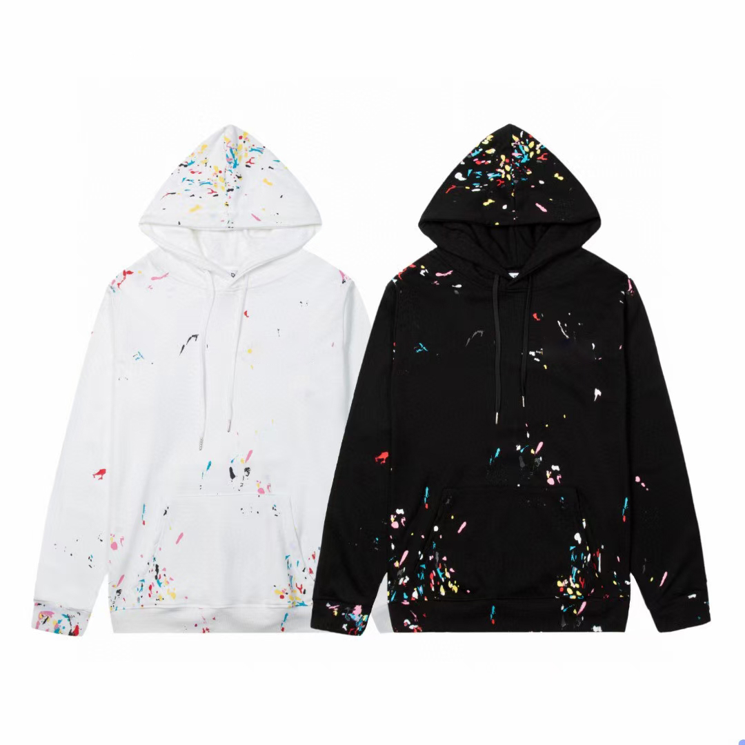 Causal Men's Hoodies Spring Autumn Winter Fashion Printing Coupon Hooded Pullover Sweater Hip Hop Streetwear Designers Sport Outerwear #7059