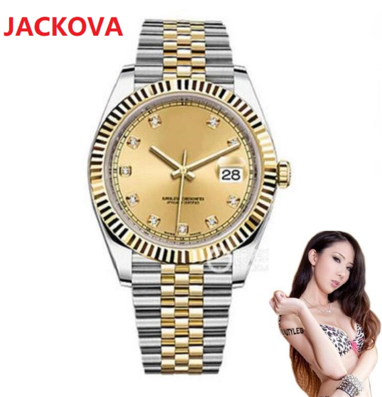 Mens Watch 41mm Mechanical Automatic movement Men Datejust 316L Stainless Steel President Desinger high quality Male Watches relojes montre de luxe