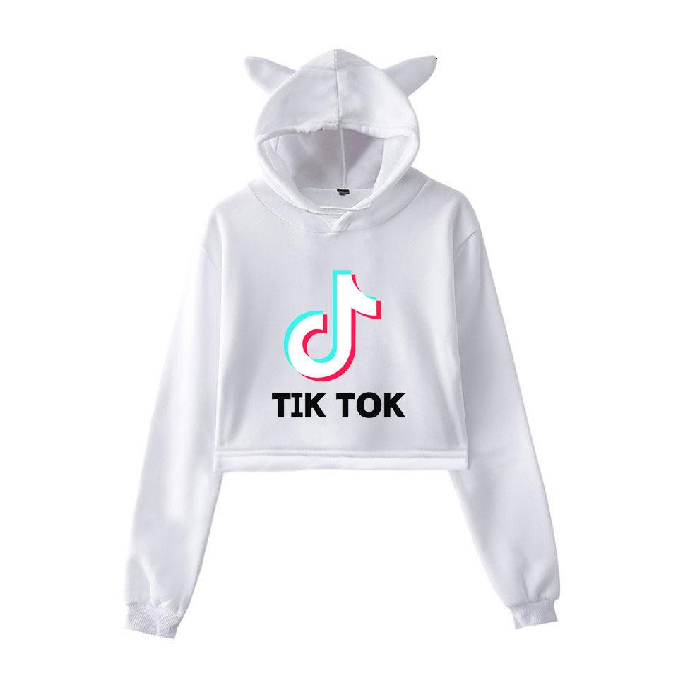tik tok software 2020 New fashion trend sala Women summer Hoodies Sweatshirt Sexy hot Kpop Harajuku clothes