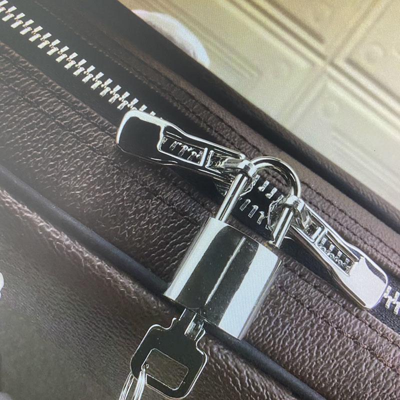 M52005 N41466 PM Small Briefcases PORTE-DOCUMENTS VOYAGE Briefcase Business Men Shoulder Laptop Bag Totes Handbag Computer Bags Duffel Bag