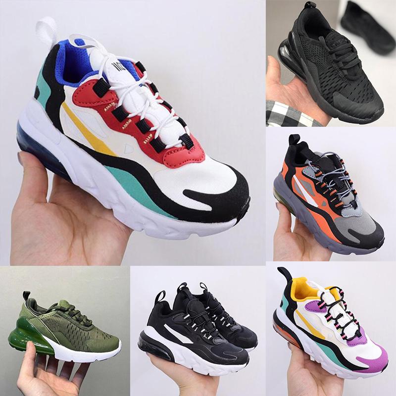 Cactus Trail Kids 27c eng React TS Running Shoes Girls Boys 270s Bauhaus Childrens Hyper Pink Bright Violet Toddler Sneaker Size 28-35