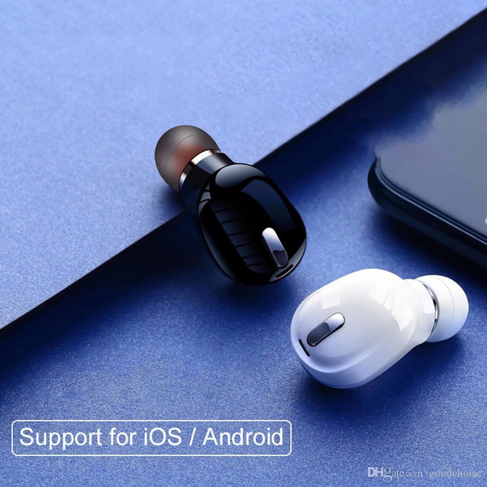 X9 single Bluetooth Earphone Youth Version Stereo Mini Wireless Bluetooth 5.0 Headset Bass Music Earphone