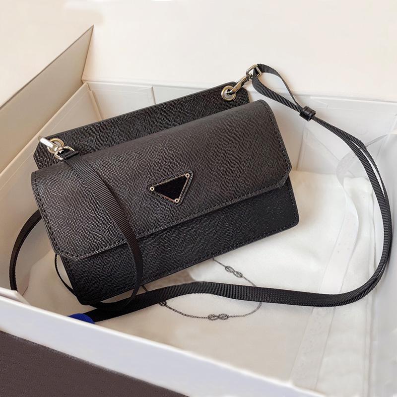 Designer mobile phone bag ladies luxury shoulder bags black clutch pack multi-card design coin purse large-capacity fashion wallet women gift