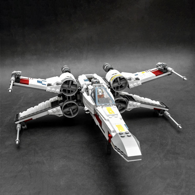 19030 816pcs Planet Series Wing Starfighter Building Blocks Bricks Education Toys Gift Compatible 75218