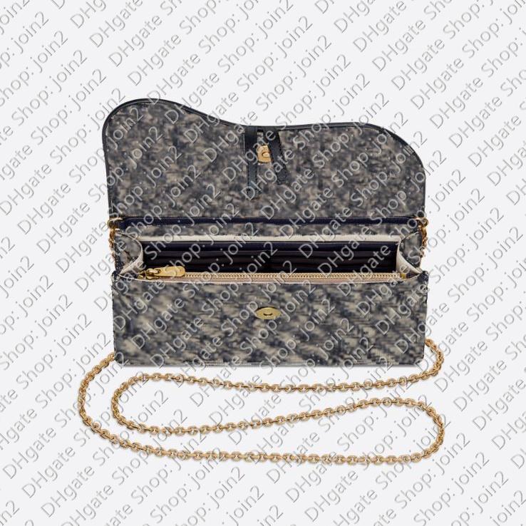 Fashion Women SADDLE POUCH Corss Body Evening Shoulder Clutch Bag Flap Chain Wallet Purse