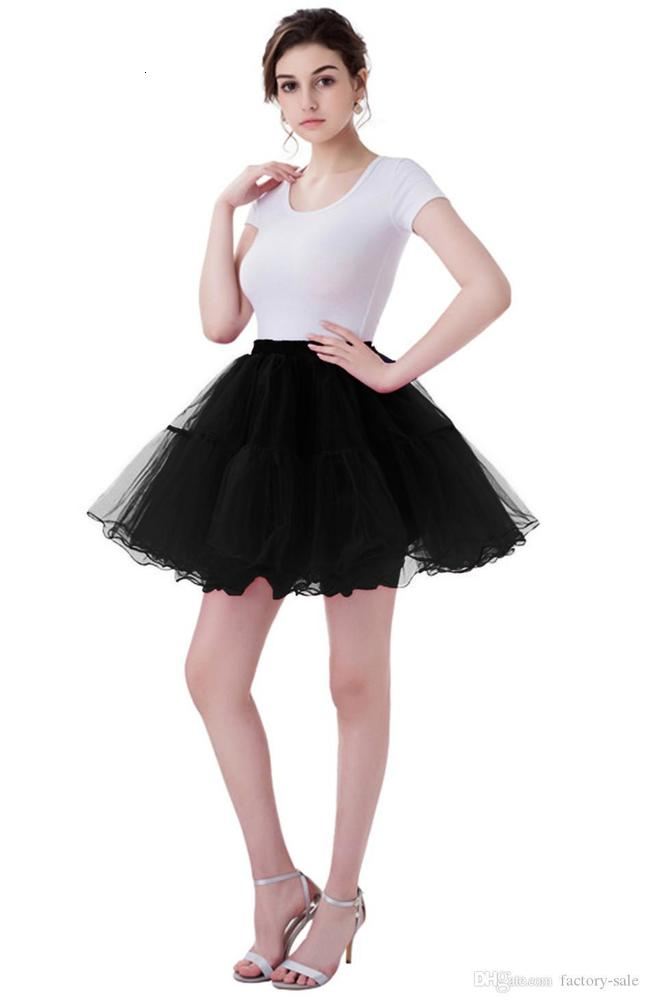 2020 Cheap In Stock Women Mini Tutu Skirts Layers Tulle Wedding Dresses Petticoat Underskirts Real Pictures Bridesmaid Shirt Wear CPA1089