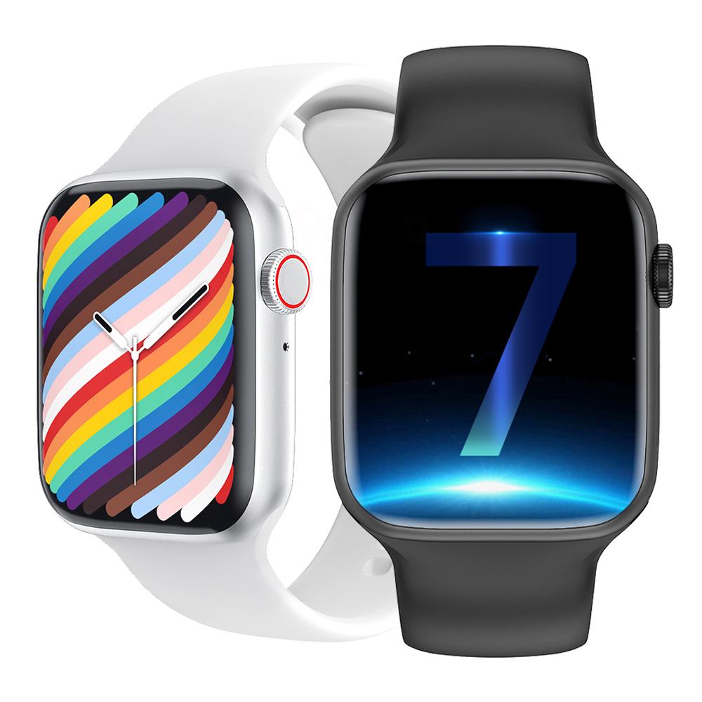 iwo w37 smartwatch VS dt100 Smart Watch 2021 Men Women Bluetooth Call Custom Watch Face watch 7 PK hw22 smartwatch iwo 13 Prog