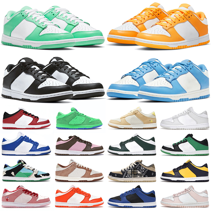 2021 men women running shoes dunk Green Glow UNC Cherry Chunky Dunky Varsity Coast Syracuse Candy Laser Orange dunks mens trainers outdoor sports sneakers