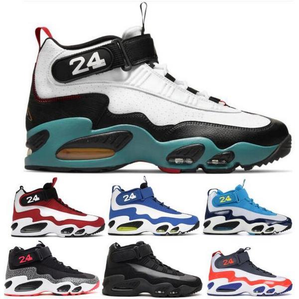 Griffey 1 Men Basketball Shoes 1s Swingman Sweetest Swing Safari Cincinnati Red Varsity Royal 2021 Zapatos Tennis Trainer Sneakers