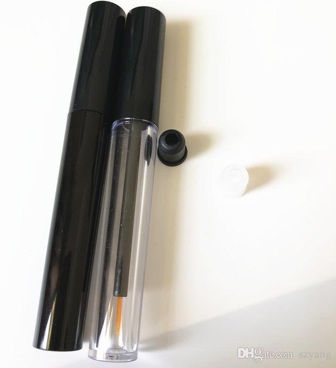 3ML Empty Plastic Clear Eyeliner Tube, Beauty Makeup Eyelashes Growth Liquid Refillable Bottle SN2703