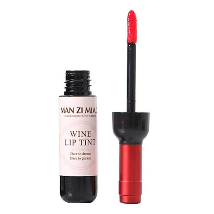 6 Colors Red Wine Bottle Stained Matte Lipstick Lip Gloss Tint Liquid Lipstick Easy to Wear Waterproof Non-stick Lipgloss (11)