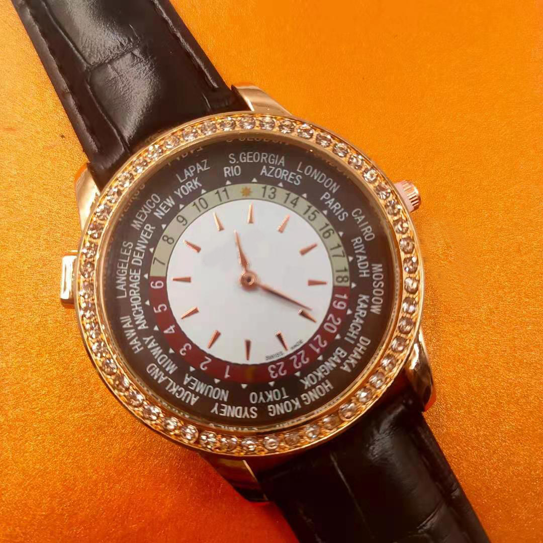 Luxury new fashion leather diamond waterproof top gift watch brand ladies watch with original box quartz watch wholesale02
