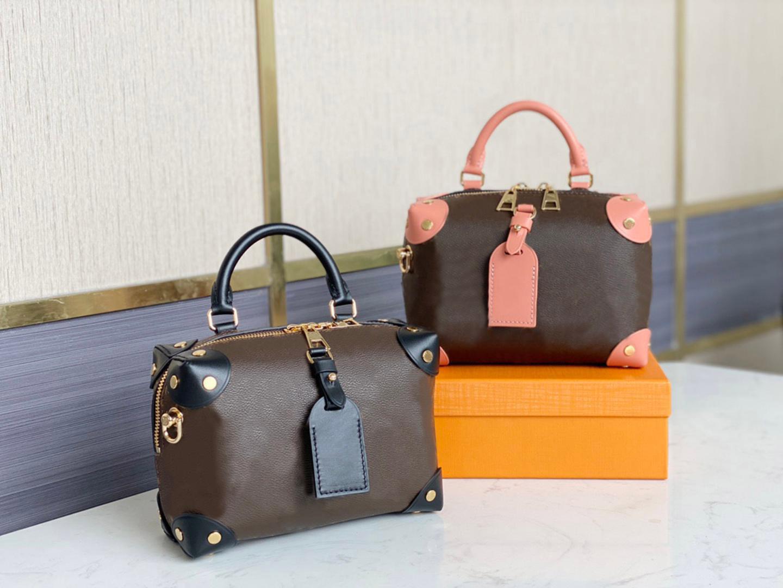 Fashion handbag luxury women's soft box medieval era messenger bag chain shoulder strap show style 2021