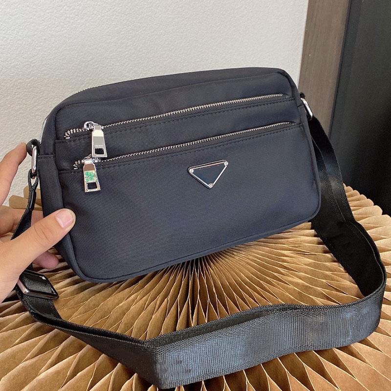 Unisex Fashion Crossbody Bags Luxury Designer Shoulder Bag High Quality Handbags Nylon Cross Body Women Handbag Men Flap with Zipper Pocket