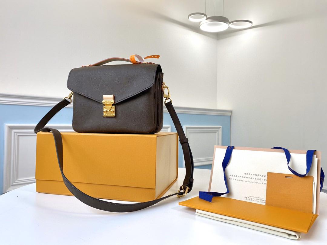 2021 Woman handbag Bag Date code serial number Quality Leather women purse messenger shoulder bags