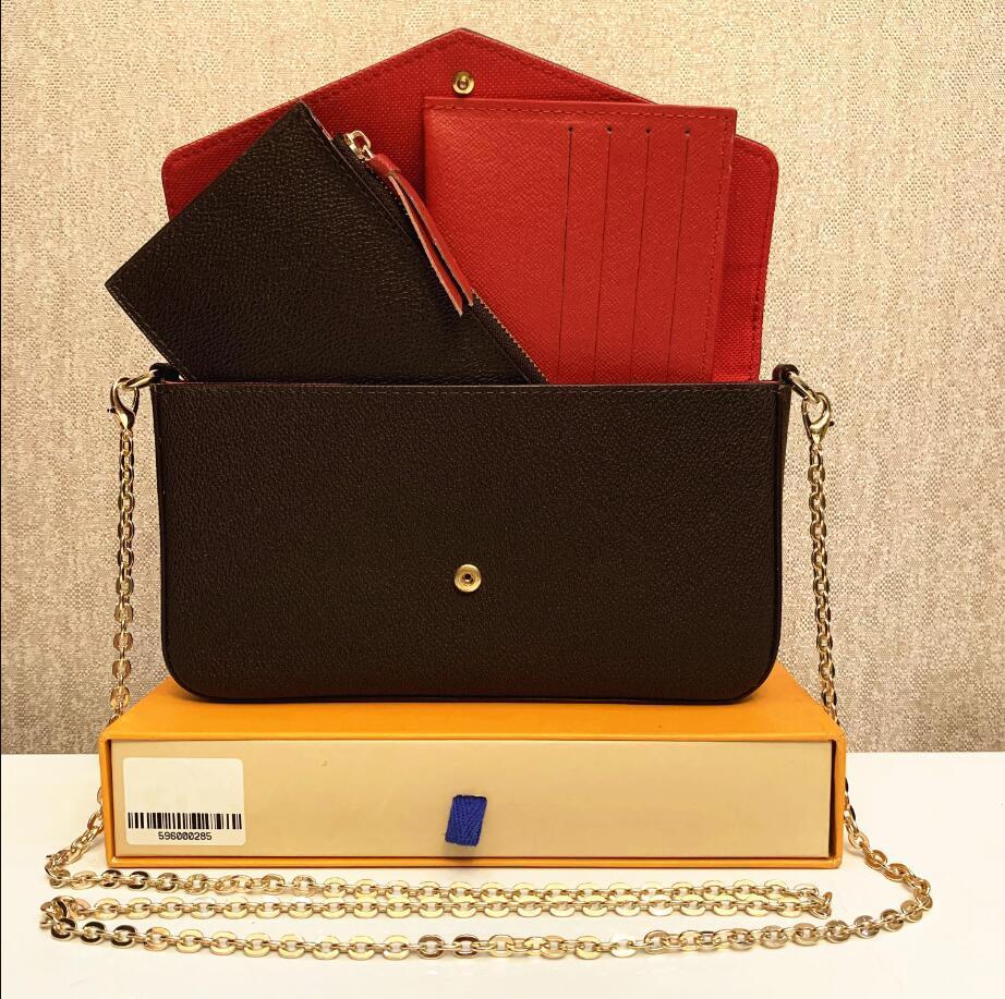 Wholesale Shoulder Bags Designers Handbags Womens Luxurys Handbag Leather Monogrames Empreinte Multi Pochette Felicie Chain Bag Cross body Messenger Tote Purses