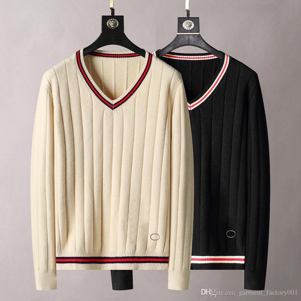 21ss designer sweater luxury men and women gradient jacquard letters men's Paris fashion top quality T-shirt street long sleeves Snake