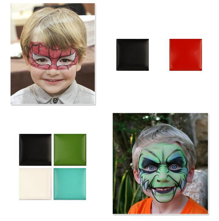 IMAGIC Professional Halloween Party Face Body Painting Body Paint Oil Tattoo Painting Art Makeup Cosmetic Bodypainting