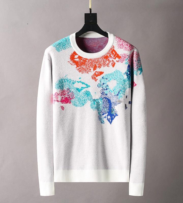 Men's Women's Designer Sweater Pullover Men's Hoodie Long Sleeve Sweater Sweater Embroidered Knitted Men's Wear Winter 2021