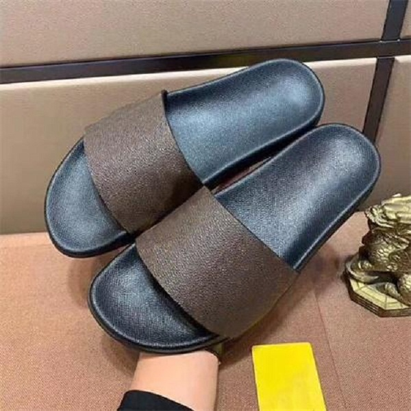 2021 Woman/Man Sandals Slippers Shoes slippers High Quality Sandals Slippers Casual Shoes Flat shoes Slide Eu:35-45 With box