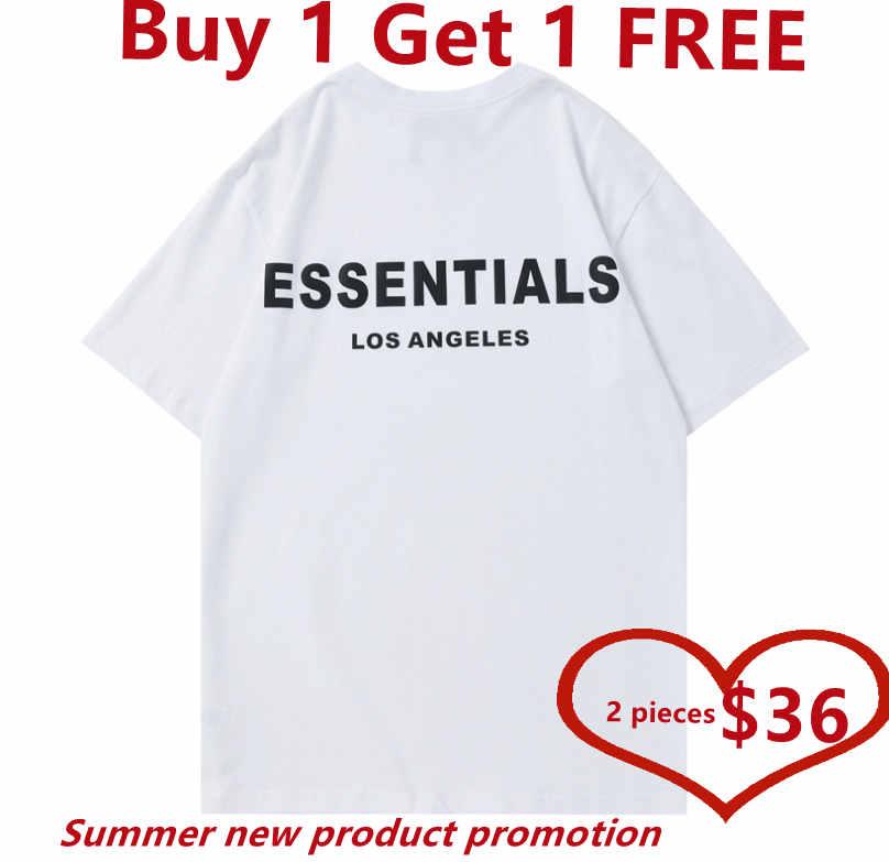 2021 Designer men's T-shirt summer quality breathable solid short sleeve hip hop fashion men and women buy one get 1 free,
