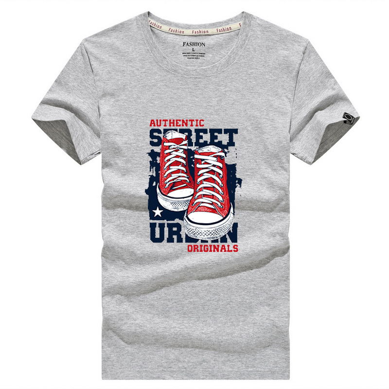 Men's T-shirts Summer Short Sleeves Printed Tops Casual Outdoor Mens Tees Shirts Crewneck Clothes Male Tee-shirts S-5XL