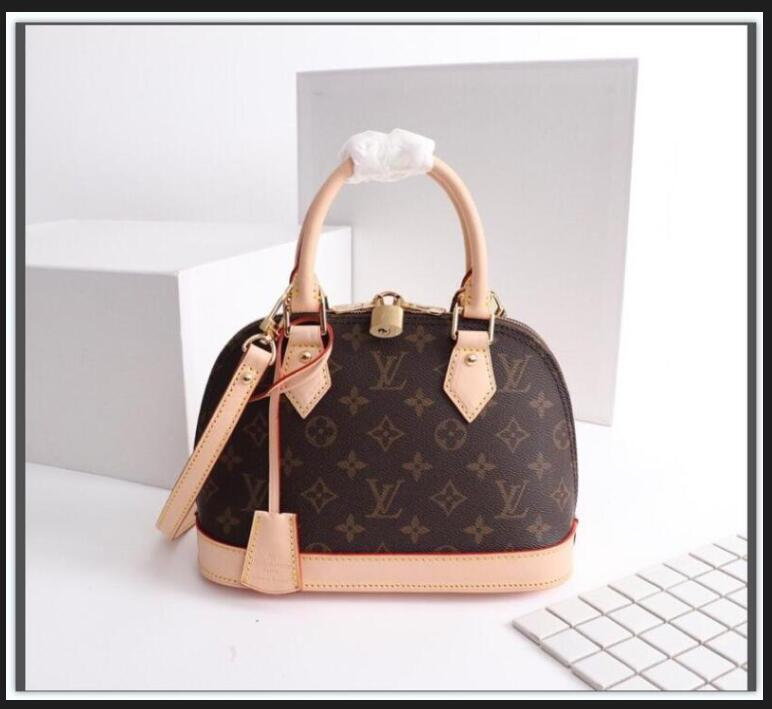 "Alma Bb Ladies Cosmetic Crossbody Bags Women Shoulder Bags luxurys designers Bag Leather Handbags Shell Wallet Purse Tote GG""LV""Louis…Vitton YSL…VUTTON"