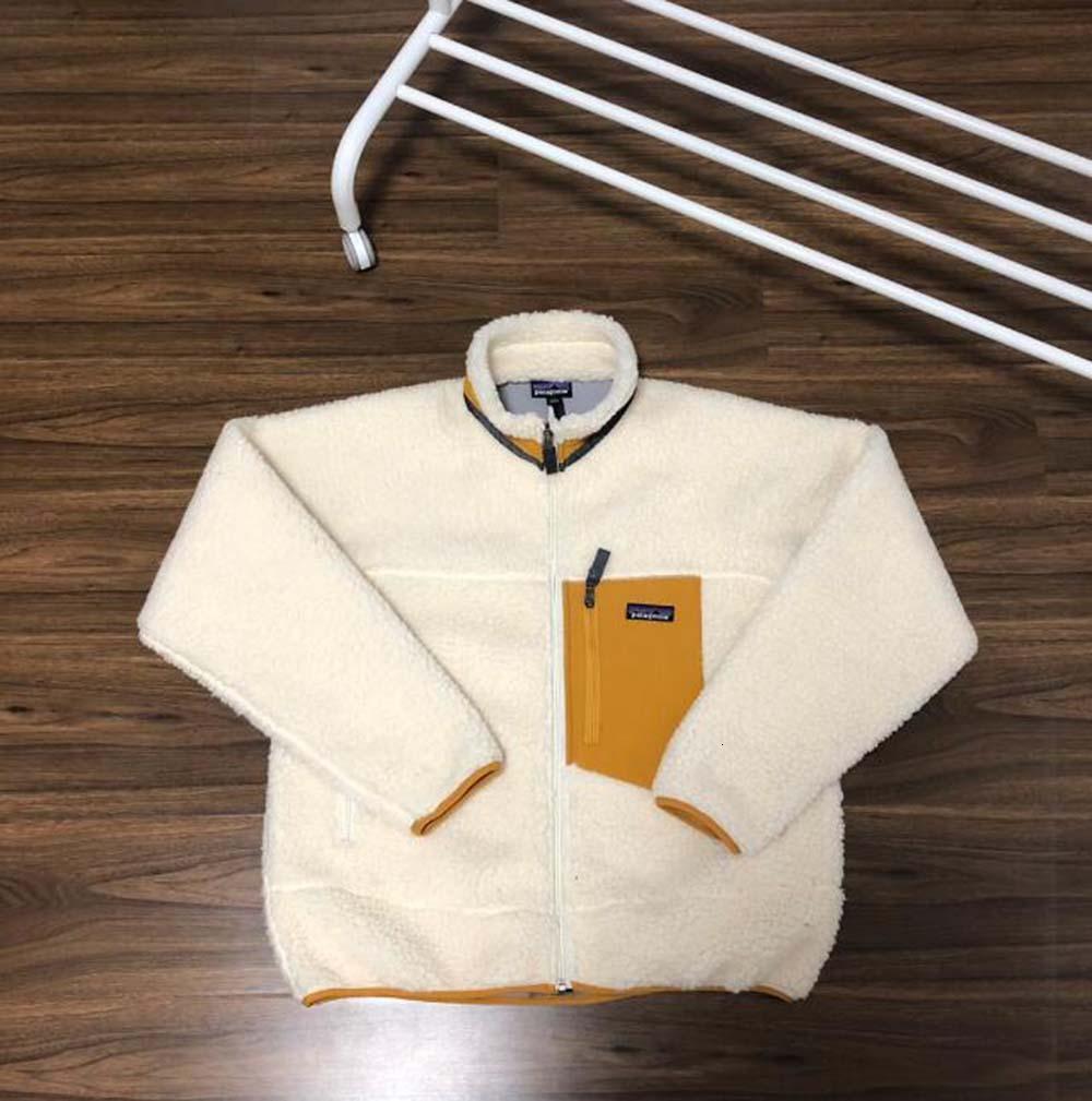 NEW ARRIVED PATAGONIA Thick warm Classic Retro-X autumn winter couple models lamb cashmere fleece coat for men women E
