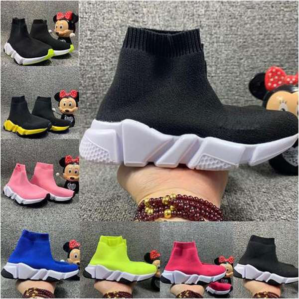 Kids Speed Runner Sock Shoes for Boys Socks Boots Child Trainers Teenage Light and comfortable Sneakers Chaussures Pour Enfant