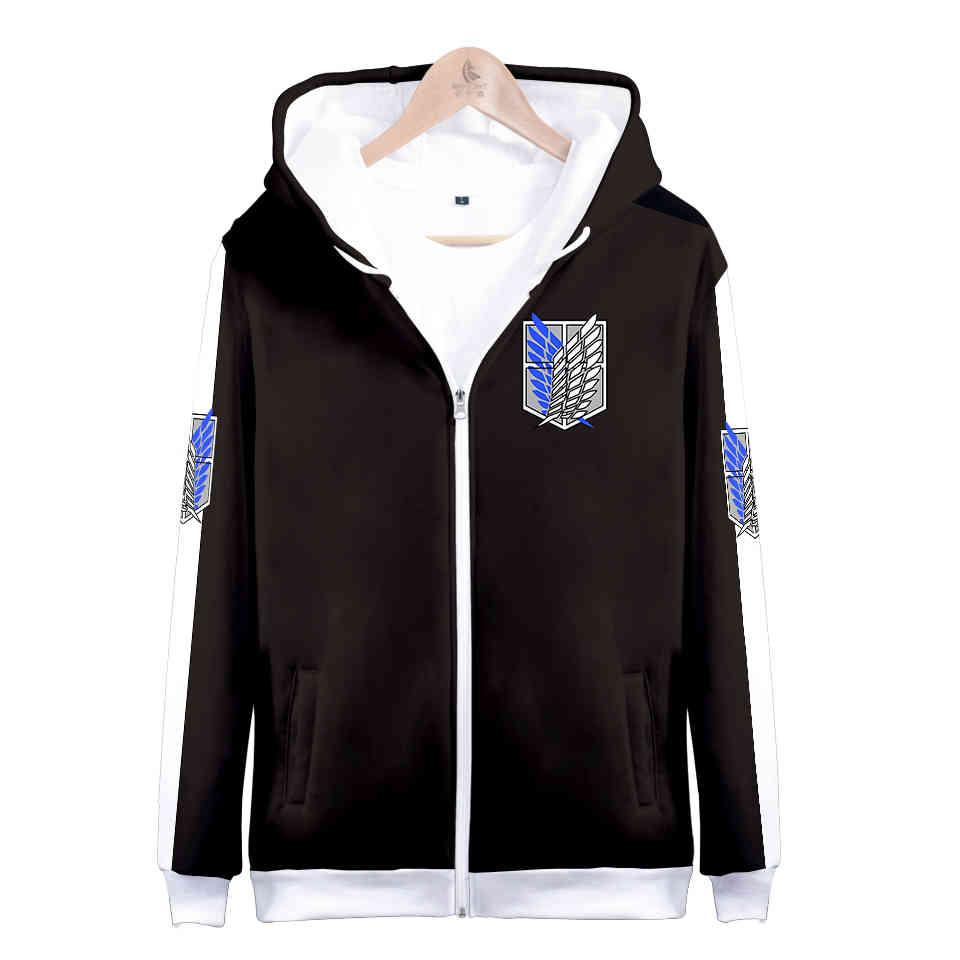 Cosplay Attack on titan Jacket Hoodie Sweatshirt Anime Cosplay Costume attack of titans Clothing Fashion shirt Unisex XXS-4XL
