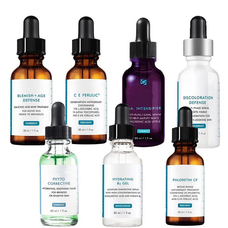 TOP quality H.A Intensifer CE Ferulic serum Phyto Phloretin CF Hydrating B5 Discoloration Defense serums 30ml skin care essence
