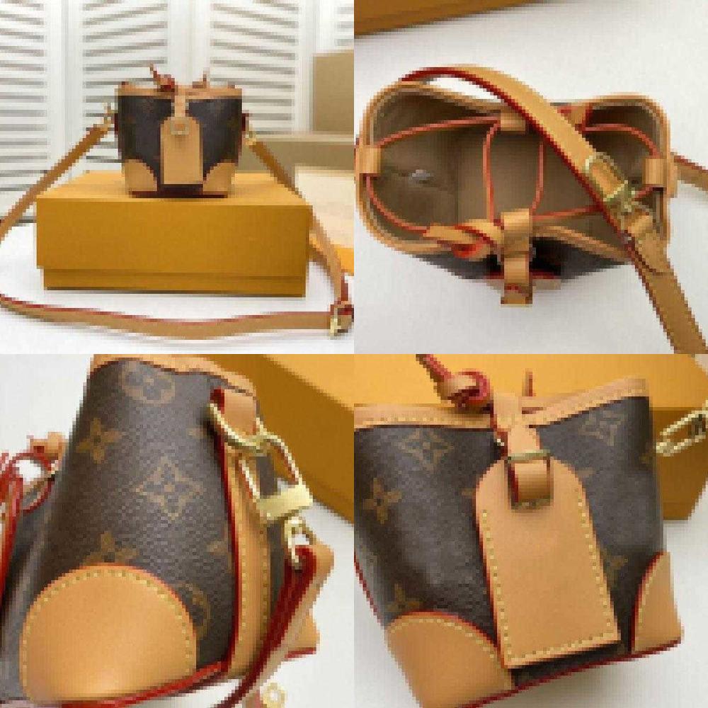 Designer Noe Purse Shoulder Bag M57099 Brown crossbody Size:12*12*12CM