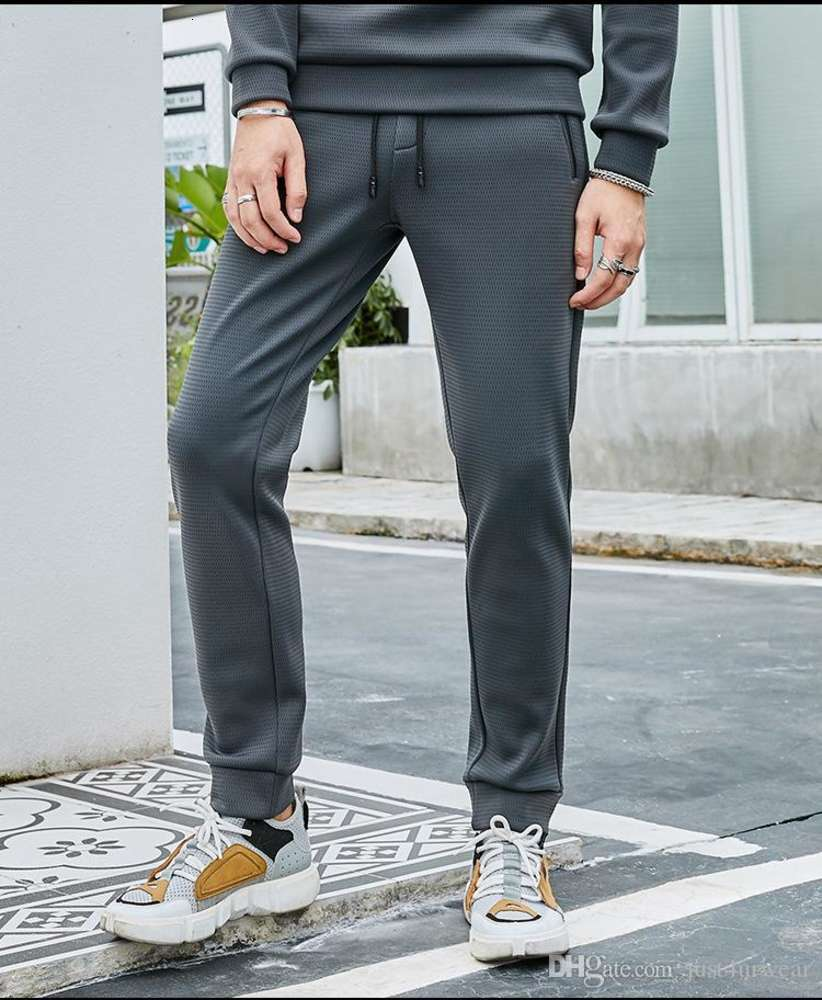 Mens Winter New Casual Warm Pants Velvet Thick Casual Pants Plus Size Male Thick Soft Solid Street Clothing 5XL
