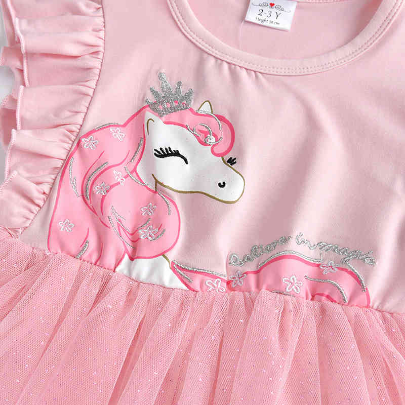 Dxton Girls Summer Dress Butterfly Princess Clothes For Party Bow Tutu Kids Dresses Cartoon Children Costumes Sequin Girls Dress (50)