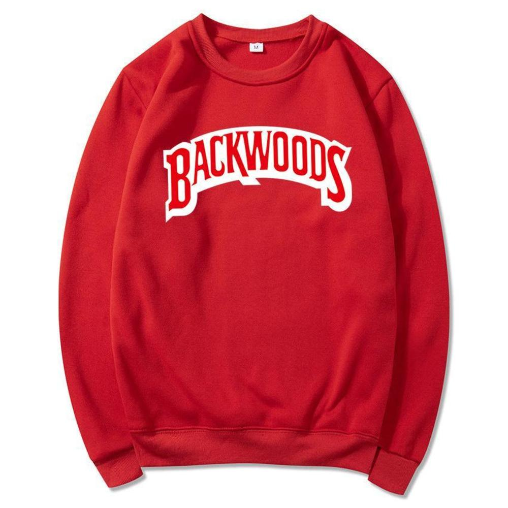 003 Backwoods hoodie Individual Rock Men's T-Shirt Sweater Letter Print Fashion Casual Pullover Sweatshirt Long Sleeve Mens Hoodies