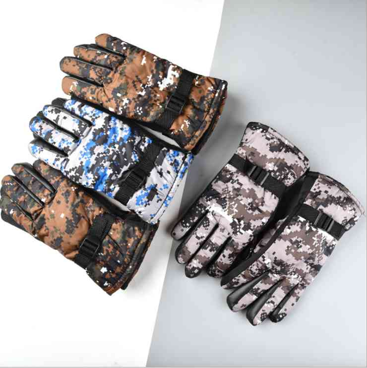 Winter Sitka Women's Hunting Glove Sports Outdoor Gear Stretch Fleece Thick Camouflage Women Sitka Hunting Gloves USA Size S-L H1018
