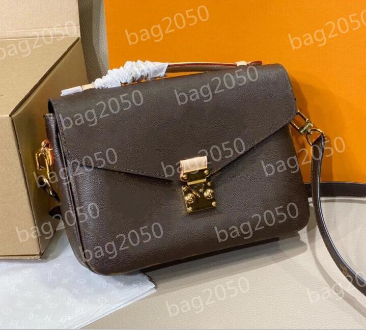 2021 Luxurys fashion women handbags messenger bag pochette accessoires leather handbag ladies womens Crossbody shoulder bags