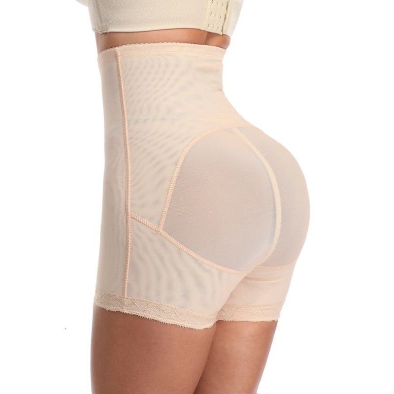 3 in 1 Waist Trainer Lace Hem Butt Lifter and Thigh Slimmer Shapewear Panty Women Bodyshaper Slimming Tummy Control Underwear Plus Size 6XL