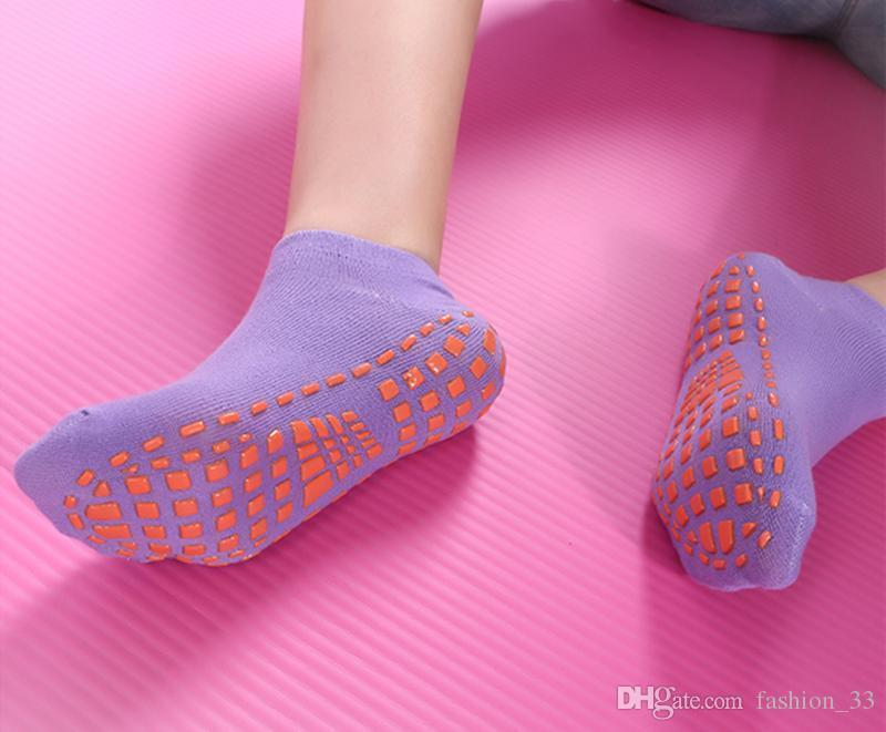 Yoga Socks Elasticity Trampoline Sock Quick-Dry Anti Slip Silicone Gym Pilates Ballet Socks Fitness Sport Sock Cotton Breathable YD0507