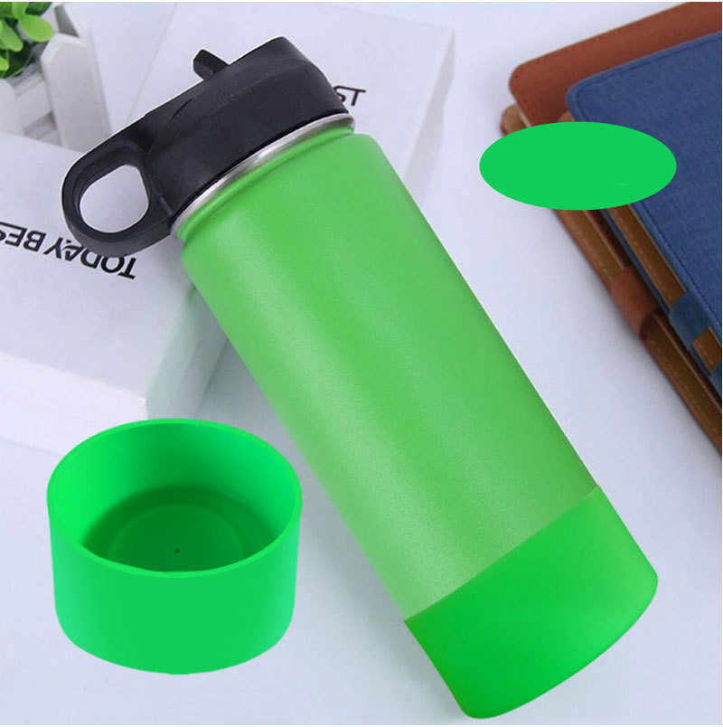 Silicone Coasters For 32oz and 40oz Bottle Bottom Protective Cover Cap Rubber Cup Vacuum Flask Bottom Cover